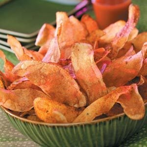 Fiery Potato Chips