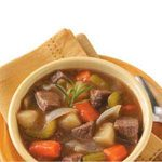 Vegetable Beef Stew for Two