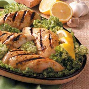 Mustard-Herb Chicken Breasts