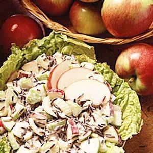 Wild Rice Apple Salad