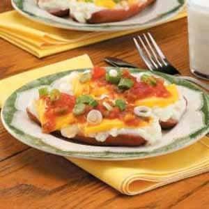 Mashed Potato-Topped Hot Dogs