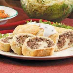 Beef and Mushroom Roll