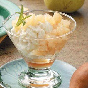 Sweet Riesling Pears
