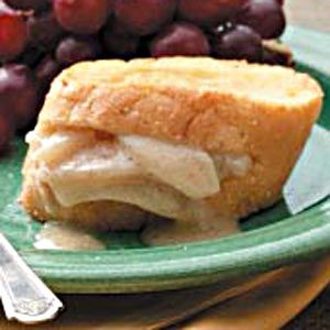 Pear-Mascarpone French Toast