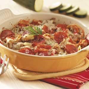 Favorite Italian Casserole