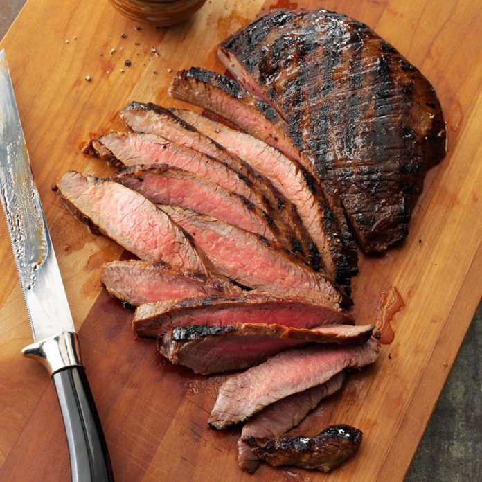 Day 18: Grilled Tender Flank Steak