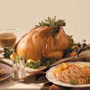 Low-Sodium Herb-Rubbed Turkey