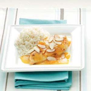 Quick Apricot Almond Chicken