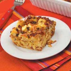 Cajun-Style Brunch Bake