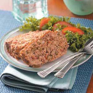 Tortilla-Salsa Meat Loaf