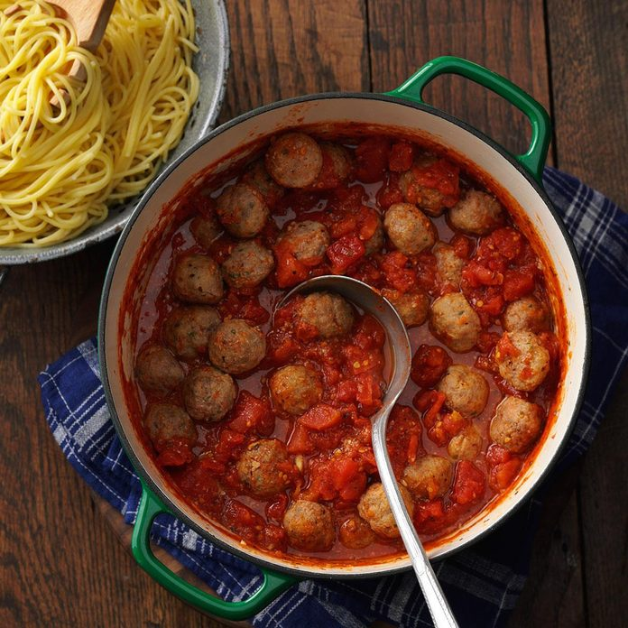 Cancer: Spaghetti Meatball Supper