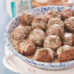 Dad's Swedish Meatballs