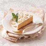 Almond-Topped Pumpkin Cheesecake