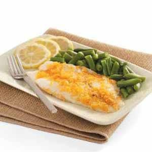 BBQ Chip-Crusted Orange Roughy