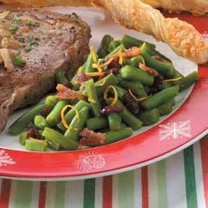 Holiday Green Beans