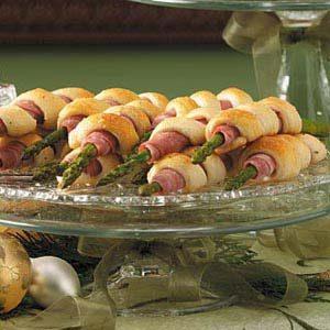 Ham Asparagus Spirals
