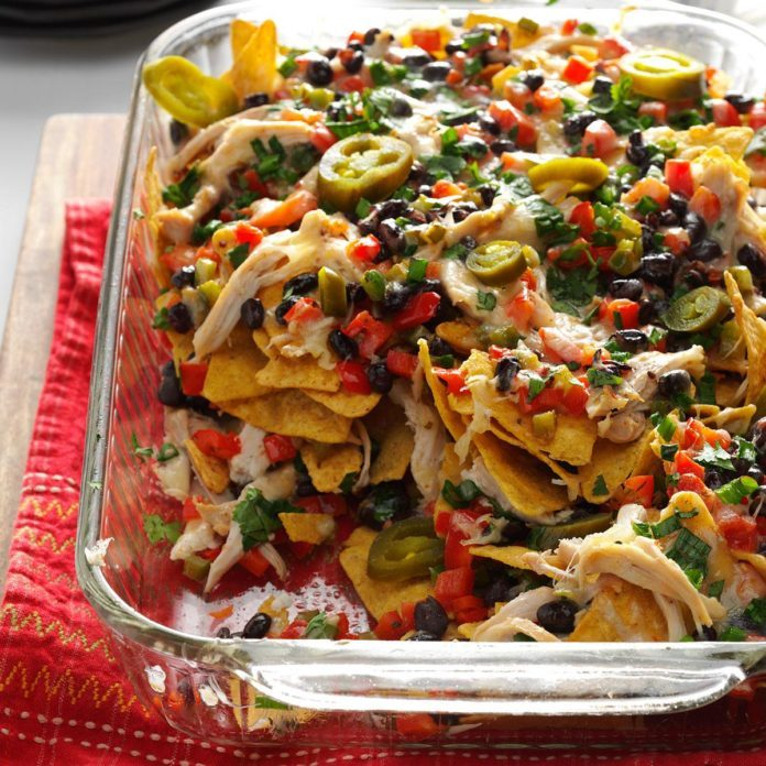 Inspired by: Loaded Chicken Nachos