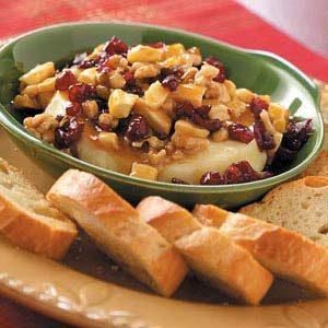 Fruit and Caramel Brie