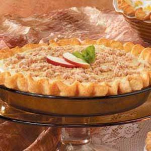Maple-Cream Apple Pie