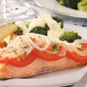 Broccoli with Mock Hollandaise