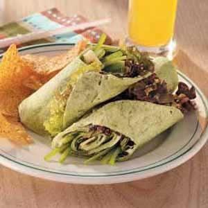 Zesty Vegetarian Wraps