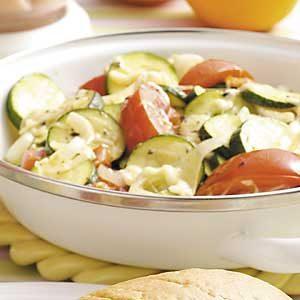 Zucchini Mozzarella Medley