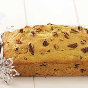 Christmas Eggnog Bread