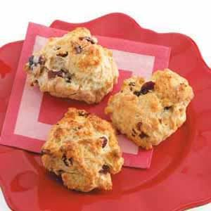 Cherry-Almond Drop Scones