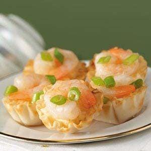 Grits 'n' Shrimp Tarts