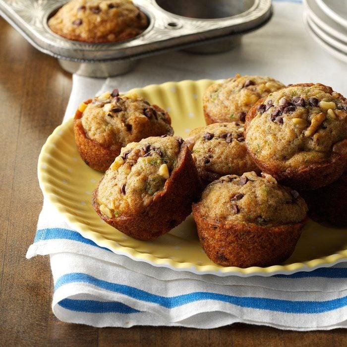 make-ahead breakfast recipes - Zucchini-Chocolate Chip Muffins