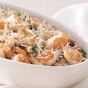 Shrimp and Penne Supper