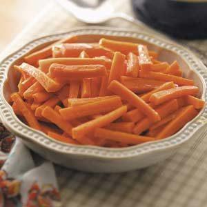 Glazed Julienned Carrots