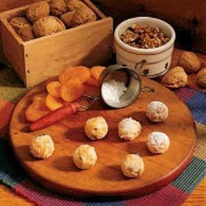 Apricot Walnut Balls