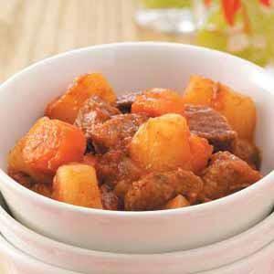 Southwestern Beef Stew