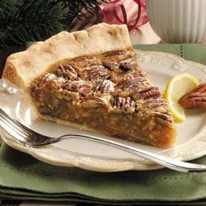 Lemon Pecan Pie