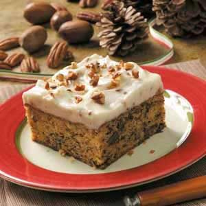 Nutty Banana Cake