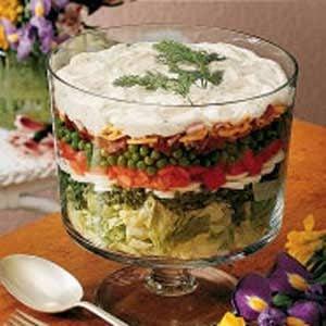 Layered Lettuce Salad
