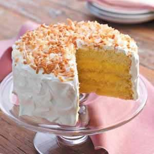 Coconut Cream Dream Cake
