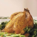 Dressed-Up Cornish Hen