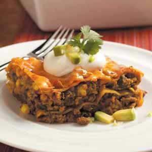 Contest-Winning Tex-Mex Lasagna