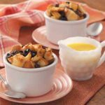 Bread Pudding with Butter Sauce