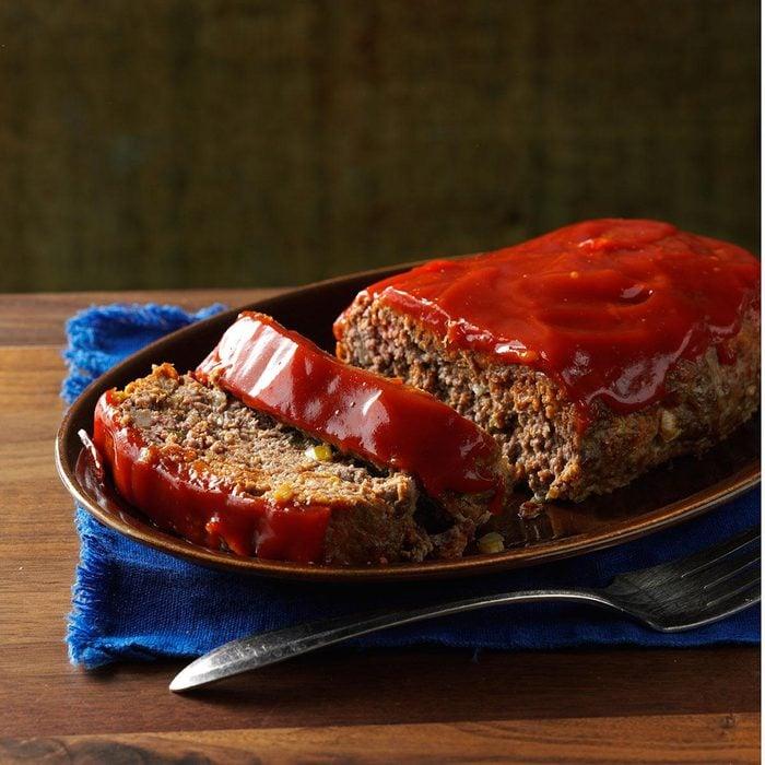 Zesty Horseradish Meat Loaf