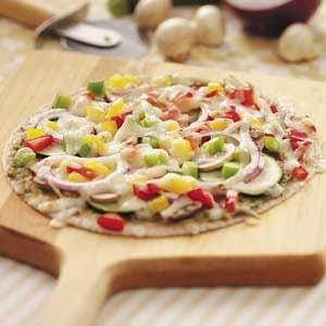 Pepperoni Veggie Pizzas