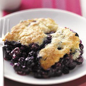 Blueberry Biscuit Cobbler