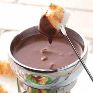 Dark Chocolate Fondue