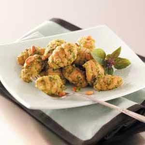 Tomato Gnocchi with Pesto