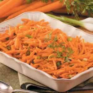 Baked Shredded Carrots
