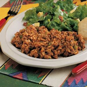 Hamburger Spanish Rice