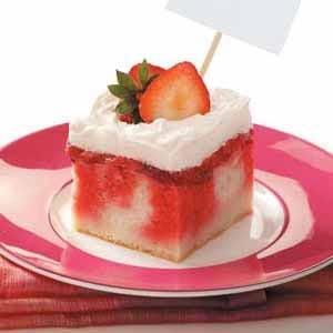 Strawberry Shortcake Dessert