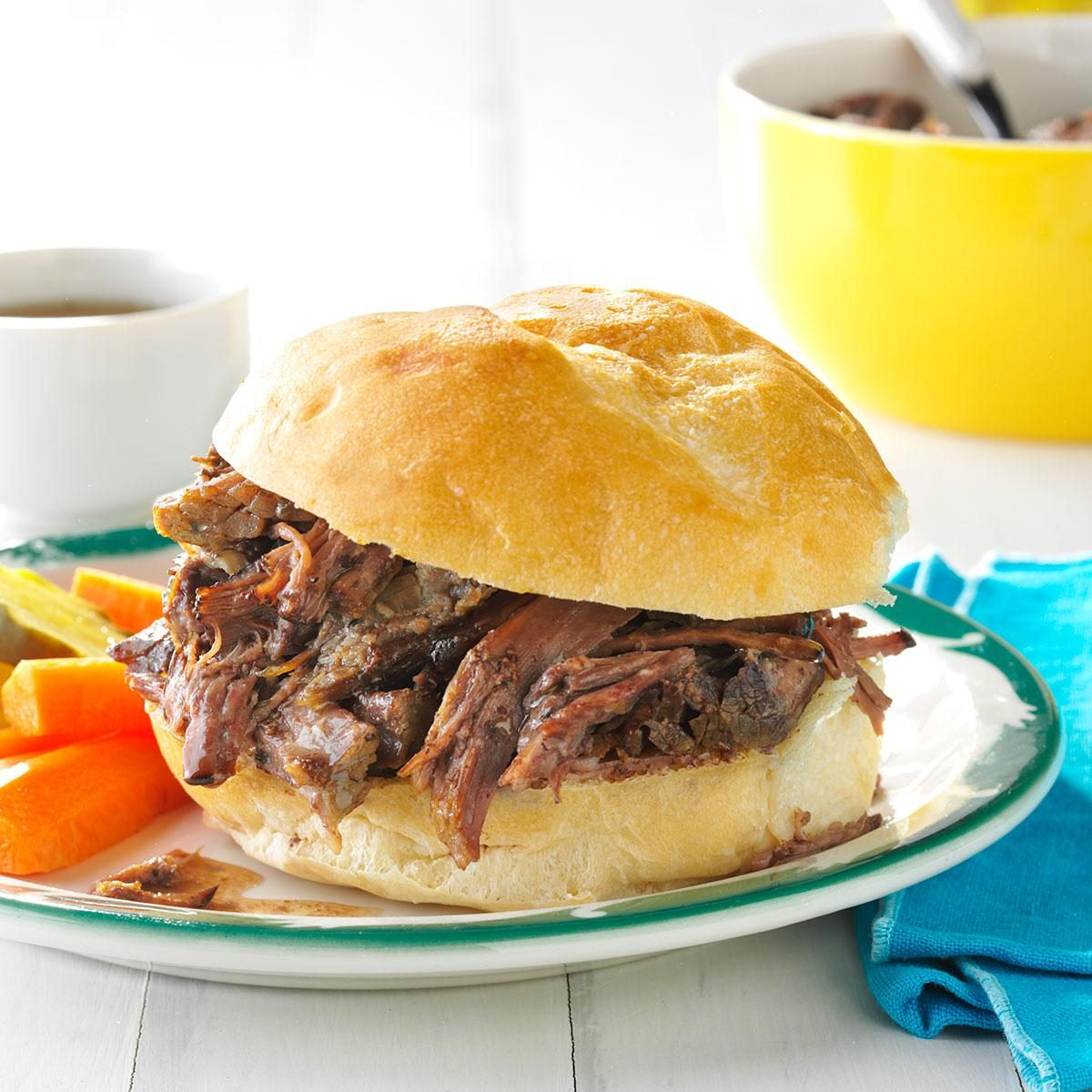 31: Shredded Beef au Jus